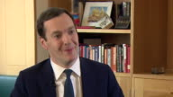 George Osborne saying he 'didn't get every budget right but in the end you should be judged on whether you stayed true to your own values'