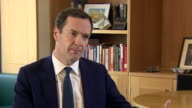 George Osborne saying he felt 'very proud to be an MP and Chancellor of the Exchequer' and 'to have been part of a team which changed the fortunes of...