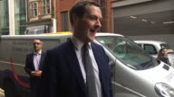 George Osborne saying he is 'thrilled and excited' to be appointed the new editor of the Evening Standard