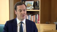 George Osborne saying his job as editor of the Evening Standard is to 'speak for Londoners' and he 'will fight for the values I held in government...