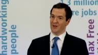 George Osborne speech on full employment at Tilbury Port Question and Answer Session Osborne answering questions SOT