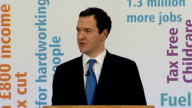 George Osborne speech on full employment at Tilbury Port Osborne speech SOT We inherited a welfare system that didn't work There was not enough...