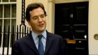 George Osborne statement on bank reform report ENGLAND London 11 Downing Street EXT George Osborne MP statement re banking report SOT I think...