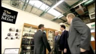 George Osborne visits the Royal Mint WALES Llantrisant Royal Mint PHOTOGRAPHY** Close shot of commemorative coin being minted with image of Prince...