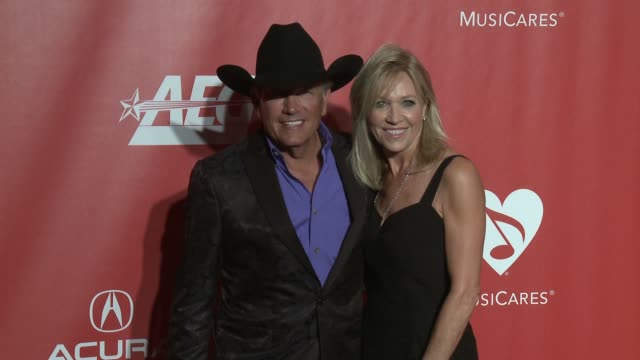 George Strait at MusiCares Person of the Year Honoring Tom Petty in Los Angeles CA
