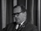 George Thompson's commonwealth secretary ***ALSO London Airport CS George Thompson SOF Says he didn't go to Rhodesia expecting to come back with a...