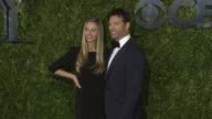 Georgia Connick and Harry Connick Jr at 2015 Tony Awards Arrivals at Radio City Music Hall on June 07 2015 in New York City