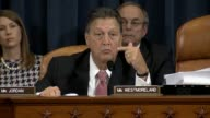 Georgia Rep Lynn Westmoreland a member of the House Select Committee on Benghazi presses former Secretary of State Hillary Clinton about which...