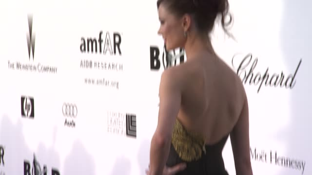 Georgina Chapman at the Cannes amfAR's Cinema Against AIDS 2008 arrivals in Cannes on May 22 2008