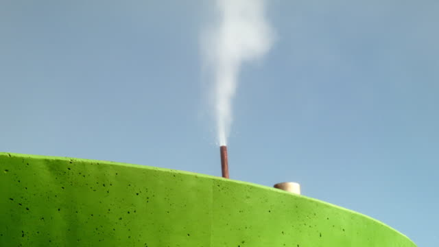 A geothermal power plant run by the Costa Rican Electricity Institute is seen as the power company has managed to produce all of the electricity for...
