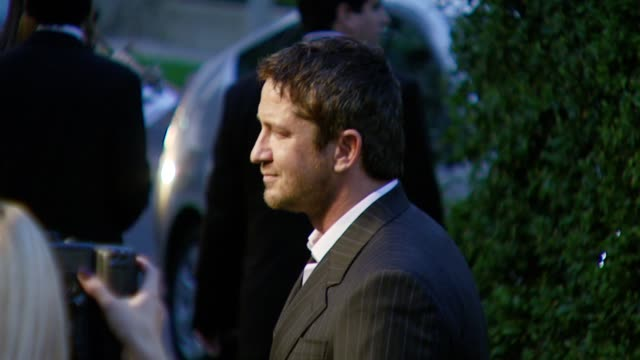 Gerard Butler at the 2007 EMA Awards at the Wilshire Ebell Theatre and Club in Los Angeles California on October 24 2007