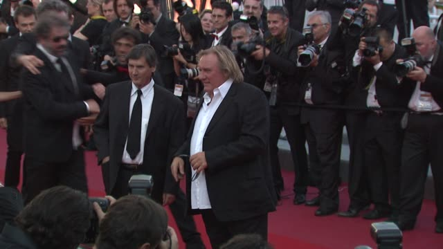 Gerard Depardieu at the Fair Game Premiere Cannes Film Festival 2010 at Cannes