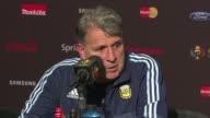 DT Gerardo Martino se dijo satisfecho de la buena primera fase de Argentina en la Copa America Centenario tras la goleada 30 a Bolivia y quedar lider...