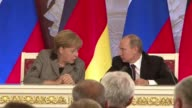 German Chancellor Angela Merkel clashed with Russian President Vladimir Putin over the jailing of feminist rock band Pussy Riot as growing bilateral...