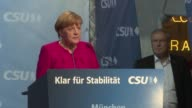 German Chancellor Angela Merkel faced down jeering protesters Friday as she embarked on a final push for votes ahead of Sunday's election seeking to...