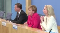 German Chancellor Angela Merkel on Monday said the refugee crisis facing Europe is testing the core ideals of universal rights at the heart of the...