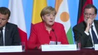 German Chancellor Angela Merkel on Monday said we have to stop illegal immigration during a mini summit with European and African leaders tackling...