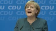 German Chancellor Angela Merkel said Monday she was open to negotiations with her centre left rivals on forming a coalition government after...