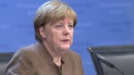 German Chancellor Angela Merkel says EU parties had agreed in spirit to keep Great Britain in the European Union at a crunch summit to reach a deal...