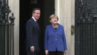 German Chancellor Angela Merkel urged Britain Thursday to stay in the EU but played down David Cameron's hopes that her visit to London would bring...