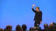 German Chancellor Angela Merkel was re elected head of her conservative Christian Democrats CDU Tuesday by more than 97 percent of delegates votes at...