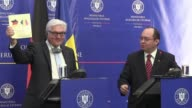 German Minister of Foreign Affairs Frank Walter Steinmeier announced in Bucharest on Monday that he was opento discuss the accession of both Romania...