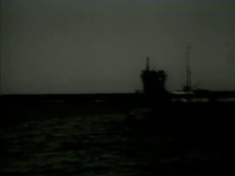 German Nazi Uboat submarine in Tangier harbor MS Nazi Swastika flag on submarine North Africa WWII World War II