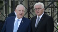 German President FrankWalter Steinmeier and his Israeli counterpart Reuven Rivlin visit the former Nazi concentration camp in Dachau