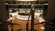 Germany avoids Recession Interiors of Frankfurt Stock Exchange Börse Frankfurt on November 14 2014 in Frankfurt am Main Germany
