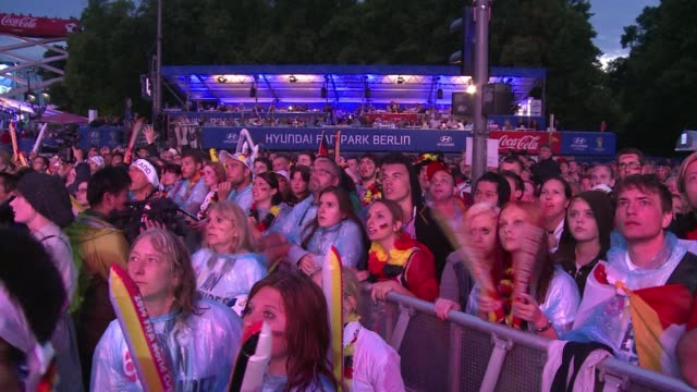 Germany erupted in ecstasy Sunday with fans dancing the night away after a World Cup final 10 win against Argentina that handed the country its...