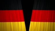 Deutschland Flagge Vorhang Tuch