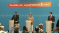 Germanys Angela Merkel said Monday the rise of populist parties in European Parliament elections was remarkable and regrettable and the answer was to...