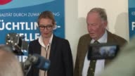 Germany's rightwing populist AfD party ramps up attacks against immigration and Islam as its poll ratings jump in the final stretch of election...