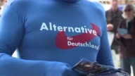 Germany's rightwing populist Alternative for Germany party were out campaigning in Berlin on Saturday the final day before the country's general...