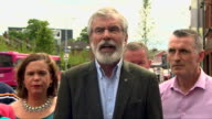 Gerry Adams saying 'history will show alliances between Ulster unionism and British unionism will always end in tears'