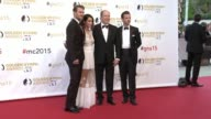 Gethin Anthony Abigail Spencer Prince Albert II of Monaco and Grey Damon at the 55th Monte Carlo TV Festival Day 4 on June 18 2015 in MonteCarlo...