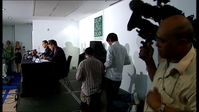 Ghaffur at press conference Shahrokh Mireskandari press conference SOT Speaks clique of officers around Blair