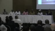 Ghana's main presidential candidates sign an agreement against electoral violence impunity and injustice ahead a hotly contested presidential...