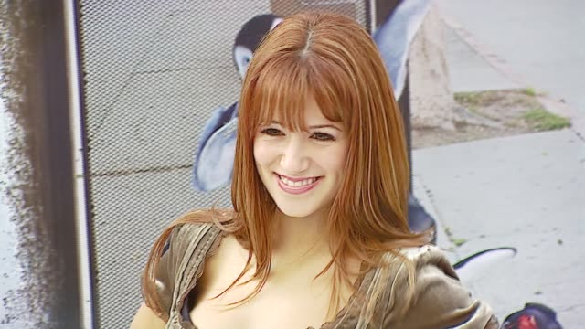 Gia Farrell at the Warner Brothers Pictures' 'Happy Feet' World Premiere at Grauman's Chinese Theatre in Hollywood California on November 12 2006
