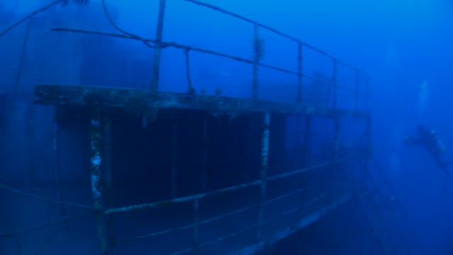 Giant military shipwreck in Taiwan
