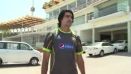 Giant Pakistan fast bowler Mohammad Irfan is ruled out of the remainder of the World Cup because of a hip injury