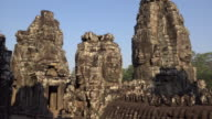 ZI / Giant stone face tower of Bayon temple
