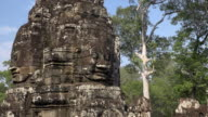ZO / Giant stone face tower of Bayon temple