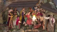 A giant traditional Nativity scene was unveiled in St Peter's Square at the Vatican on Tuesday CLEAN Nativity scene unveiled in Vatican's St on...