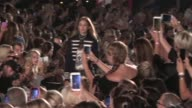Gigi Hadid Hailey Baldwin and their fellow Models on the runway for the Tommy Hilfiger Ready to Wear Fashion Show Spring Summer 2017 in New York City...
