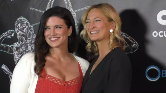 Gina Carano Zoe Bell at the 2017 Artemis Women In Action Film Festival Opening Night Gala on April 20 2017 in Beverly Hills California