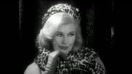 Ginger Rogers INTERVIEW Talking about Harlow Movie 1965 Harlow remake was done in a new format called 'Electronovision'