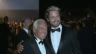 Giorgio Armani Gerard Butler Paul Haggis at Haiti Carnival In Cannes Gala Dinner on May 21 2012 in France