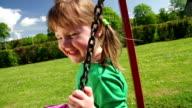 SLOW MOTION: Girl on Swing