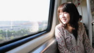 girl on train